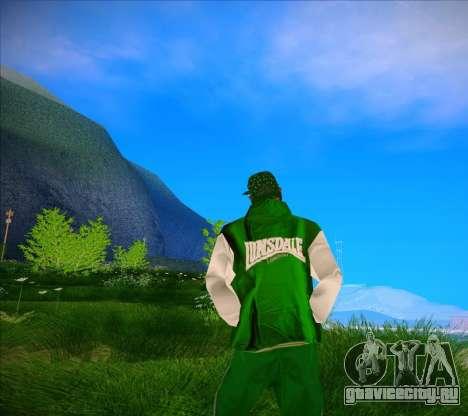 Кофта Lunsdale для GTA San Andreas третий скриншот