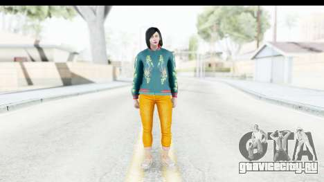 Cunning Stunts DLC Female Skin для GTA San Andreas второй скриншот
