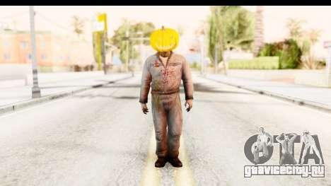 Left 4 Dead 2 - Zombie Pumpkin для GTA San Andreas второй скриншот