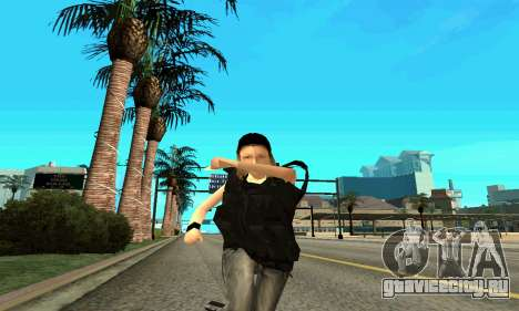 Женщина-тренер SWAT для GTA San Andreas шестой скриншот