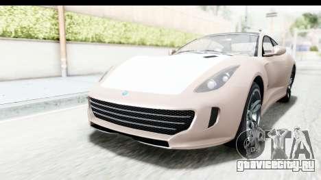 GTA 5 Grotti Bestia GTS with MipMap для GTA San Andreas вид сзади слева