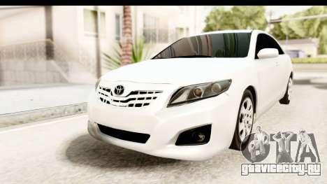 Toyota Camry GL 2011 для GTA San Andreas