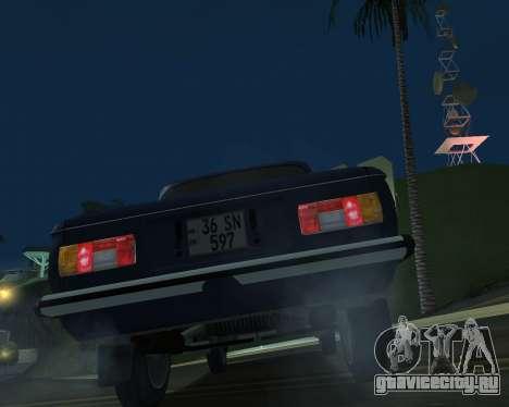 ЗАЗ 968М Армения для GTA San Andreas двигатель