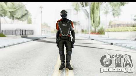 Homefront The Revolution - KPA v5 Captain для GTA San Andreas второй скриншот