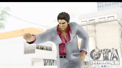 Yakuza 5 Kazuma Kiryu для GTA San Andreas