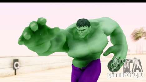 Marvel Heroes - Hulk для GTA San Andreas