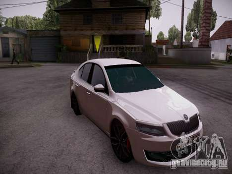 Skoda Octavia A7 R для GTA San Andreas