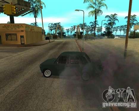 ВАЗ 2101 Армения для GTA San Andreas вид сверху