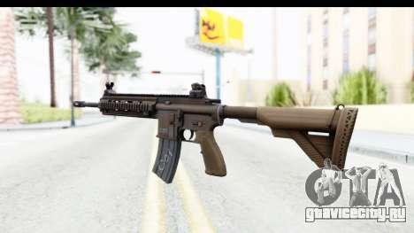 Heckler & Koch HK416 для GTA San Andreas второй скриншот