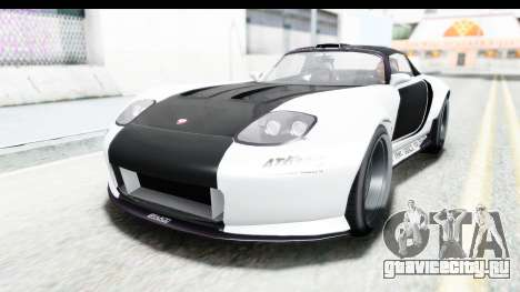 GTA 5 Bravado Banshee 900R Carbon Mip Map для GTA San Andreas вид сверху