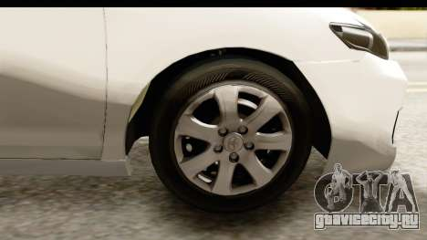 Toyota Camry GL 2011 для GTA San Andreas вид сзади