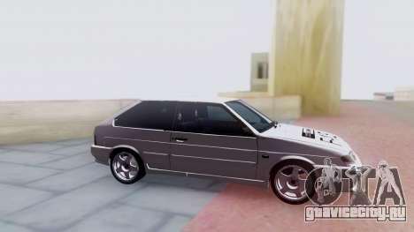 VAZ 2113 LoudSound для GTA San Andreas вид сзади