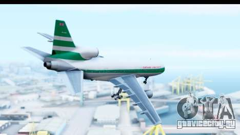 Lockheed L-1011-100 TriStar Cathay Pacific Air для GTA San Andreas вид справа