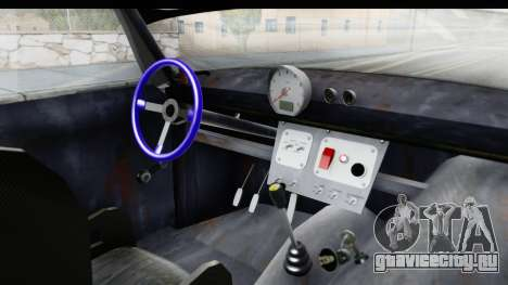ИЖ Комби v2 для GTA San Andreas вид изнутри