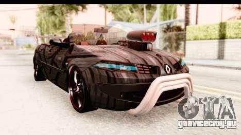 Renault Megane Spyder Full Tuning v2 для GTA San Andreas