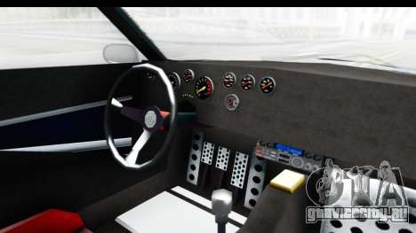 GTA 5 Lampadati Tropos Rallye No Headlights IVF для GTA San Andreas вид изнутри