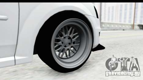 Dacia Logan Coil для GTA San Andreas вид сзади