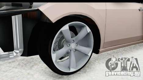 Honda Accord 2010 JDM для GTA San Andreas вид сзади