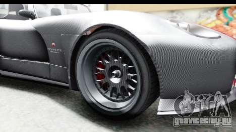 GTA 5 Bravado Banshee 900R Carbon Mip Map для GTA San Andreas вид сзади