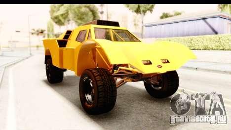 GTA 5 Desert Raid IVF PJ для GTA San Andreas вид справа