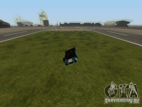 Переворот машины без потери скорости для GTA San Andreas
