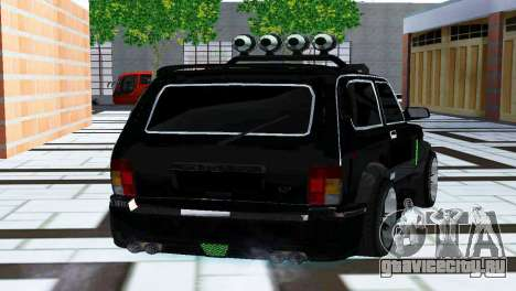 ВАЗ 21213 Нива 4x4 Tuning для GTA San Andreas вид слева