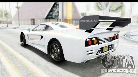 GTA 5 Progen Tyrus для GTA San Andreas салон