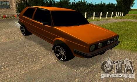 Volkswagen Golf 2 для GTA San Andreas