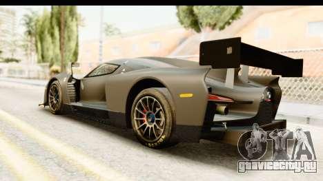 Scuderia Glickenhaus SCG 003C для GTA San Andreas вид слева