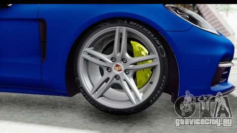 Porsche Panamera 4S 2017 v1 для GTA San Andreas вид сзади слева