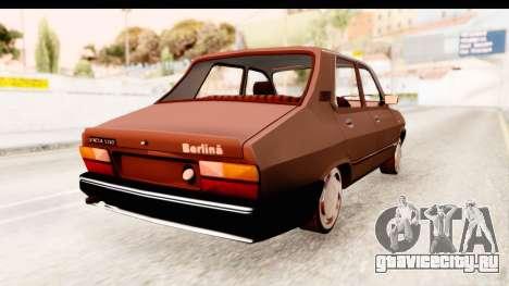 Dacia 1310 LI для GTA San Andreas вид сзади слева