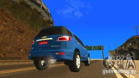 Chevrolet TrailBlazer 2015 LTZ для GTA San Andreas вид справа