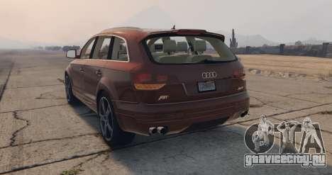 Audi Q7 AS7 ABT 2009 для GTA 5 вид слева
