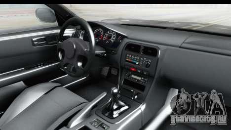 Nissan Silvia S14 Low and Slow для GTA San Andreas вид изнутри