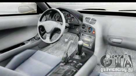 Mazda RX-7 4-doors Fastback для GTA San Andreas вид изнутри