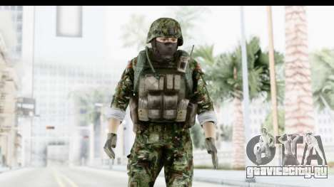 Global Warfare Balkan для GTA San Andreas