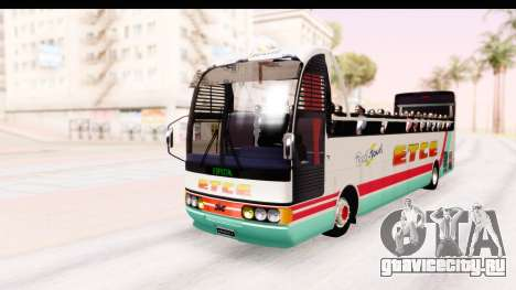 Bus Tours Dic Megadic 4x2 ETCE для GTA San Andreas