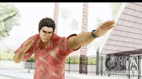 Yakuza 5 Kazuma Kiryu Okinawa для GTA San Andreas
