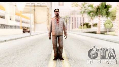 Left 4 Dead 2 - Zombie Shirt 1 для GTA San Andreas второй скриншот