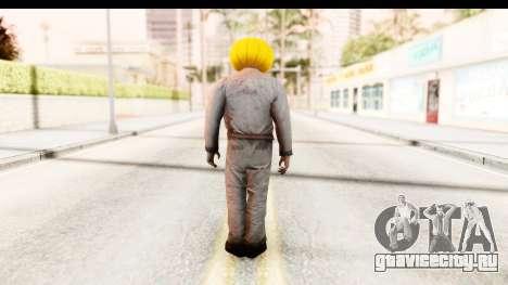 Left 4 Dead 2 - Zombie Pumpkin для GTA San Andreas третий скриншот