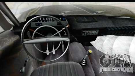 ИЖ Комби v1 для GTA San Andreas вид изнутри