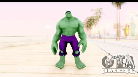 Marvel Heroes - Hulk для GTA San Andreas второй скриншот