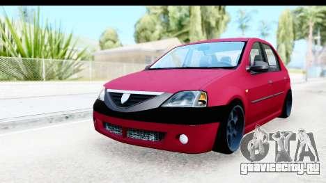 Dacia Logan Editie для GTA San Andreas