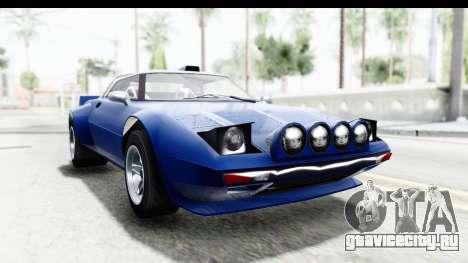 GTA 5 Lampadati Tropos Rallye No Headlights IVF для GTA San Andreas