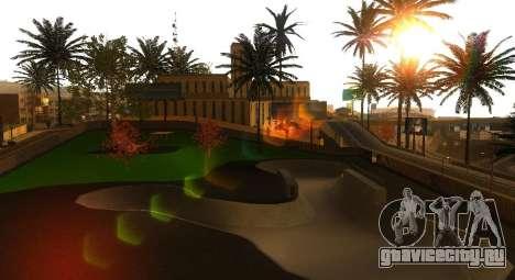 Новые текстуры скейт-парка и госпиталя для GTA San Andreas пятый скриншот