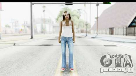 Silverblk White Top для GTA San Andreas второй скриншот
