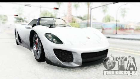 GTA 5 Pfister 811 SA Lights для GTA San Andreas вид сзади слева