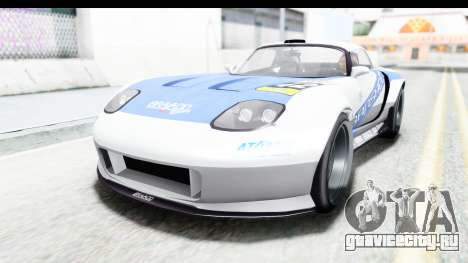 GTA 5 Bravado Banshee 900R Carbon Mip Map для GTA San Andreas салон