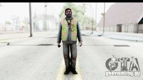 Left 4 Dead 2 - Zombie Baggage Handler для GTA San Andreas второй скриншот
