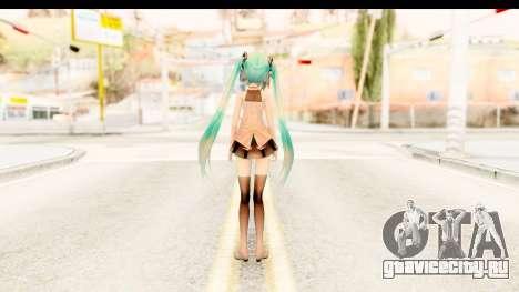 Miku Api Oufit v2.0 для GTA San Andreas третий скриншот
